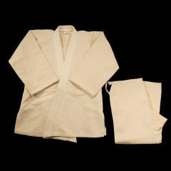 DYNAMICS JUDO OFF WHITE UNIFORM - SINGLE Weave