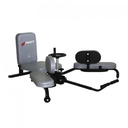 WHEEL DESIGN LEG STRETCHING MACHINE