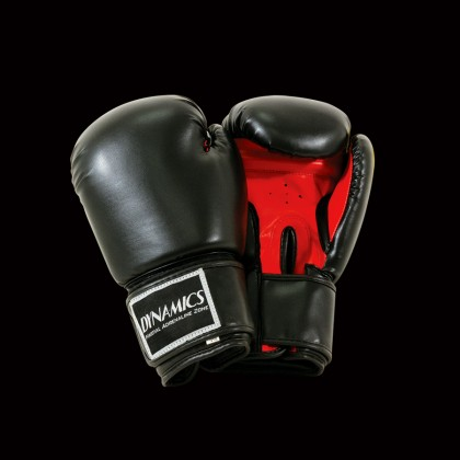 DYNAMICS ELITE BLACK BOXING GLOVES