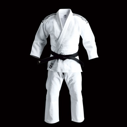 ADIDAS J 930 CHAMPION GI JUDO WHITE UNIFORM