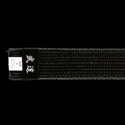 "DYNAMICS MOODO PREMIUM 2"" WIDE BLACK BELT"