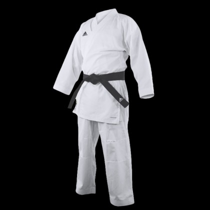 K220C WKF ADIDAS CLUB TRAINING GI KARATE UNIFORM