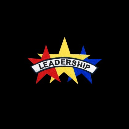 LEADERSHIP 3 STARS PATCH