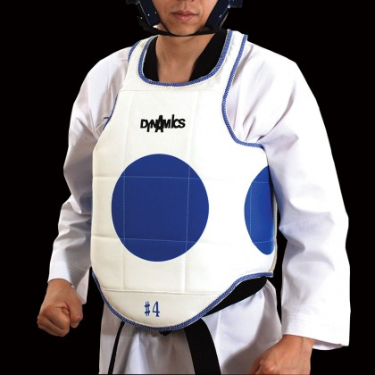 Dynamics back supported body protector