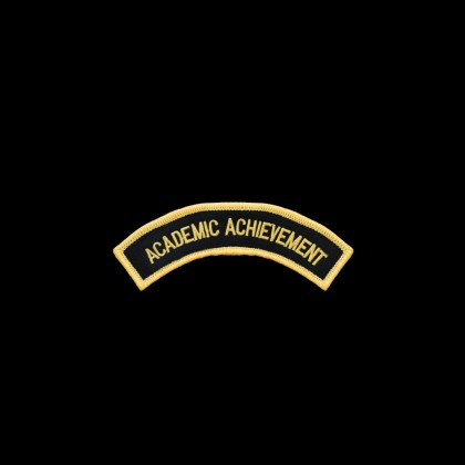 Academic Achievement Arch Patch