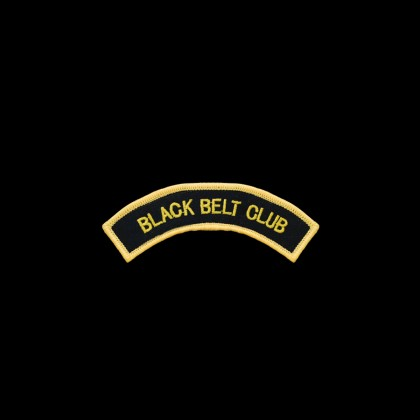 Black Belt Arch Patch