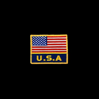 National Flag of USA & USA PATCH