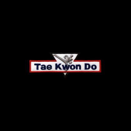 TAE KWON DO KICKER PATCH