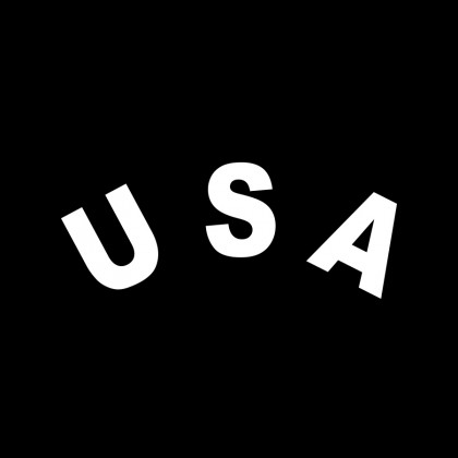 DECAL LETTERING - USA (ARCH)