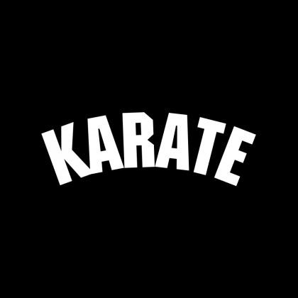 DECAL LETTERING - KARATE (ARCH)