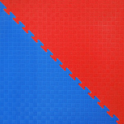 DYNAMICS FLOOR BLUE/RED OCTAGON MATS