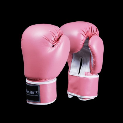 DYNAMICS ELITE PINK BOXING GLOVES