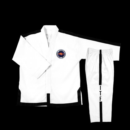 ITF RIBBED TAEKWONDO UNIFORM