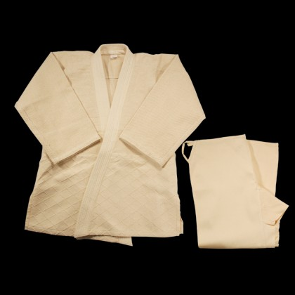 DYNAMICS JUDO OFF WHITE UNIFORM - SINGLE Weave