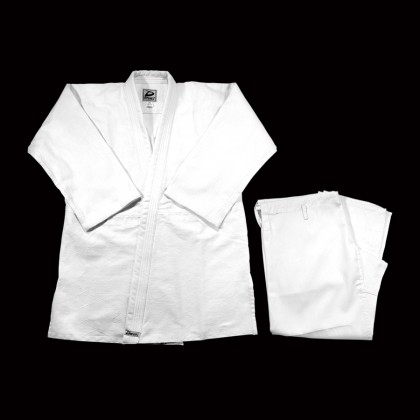 DYNAMICS WHITE JUDO UNIFORM - Double weave