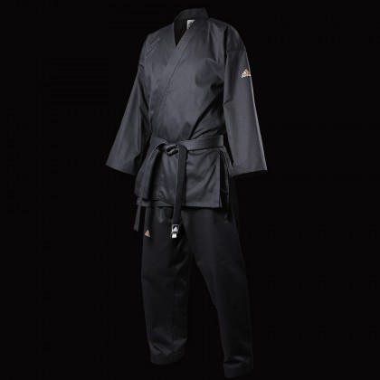Adidas Open Taekwondo Black Uniform