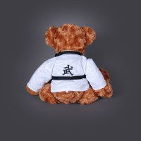 MARTIAL ARTS TEDDY BEAR - BROWN