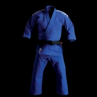 ADIDAS J 930 CHAMPION GI JUDO BLUE UNIFORM