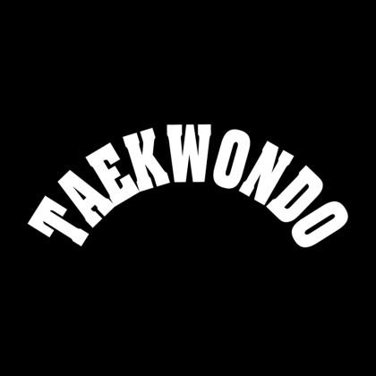 DECAL LETTERING - TAEKWONDO (ARCH)