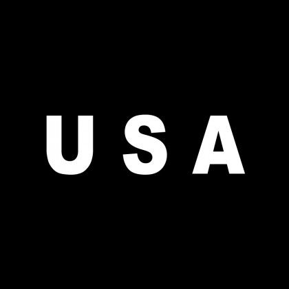 DECAL LETTERING - USA