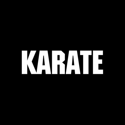 DECAL LETTERING - KARATE