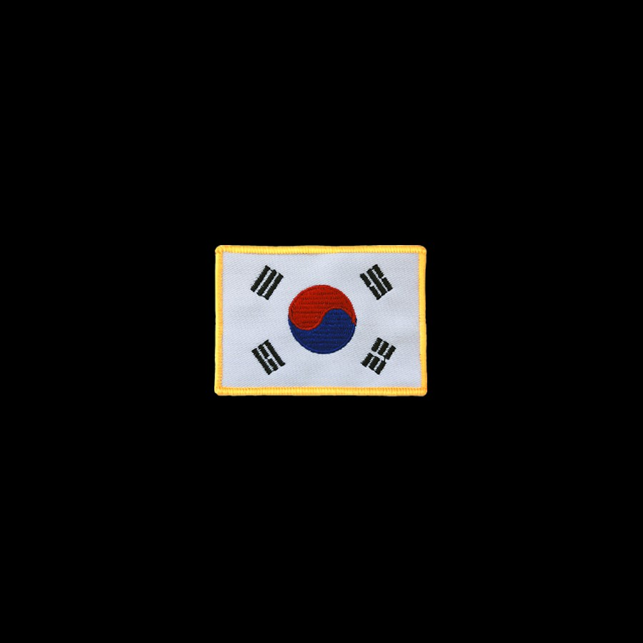 The Official Distributor Of Adidas Korea Flag With Gold