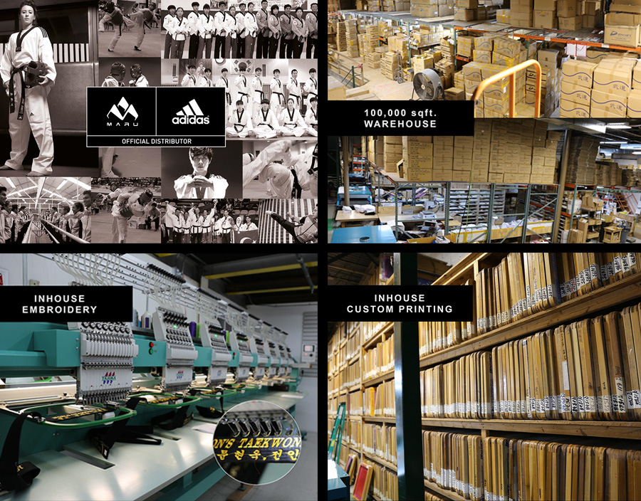 The official distributor of adidas Stores Martial Arts Supplies